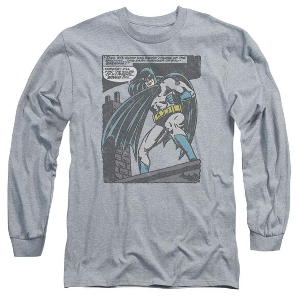 Batman Bat Origins Long Sleeve Adult Athletic T-Shirt