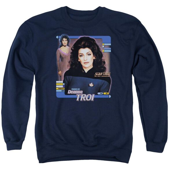 Star Trek Deanna Troi Adult Crewneck Sweatshirt
