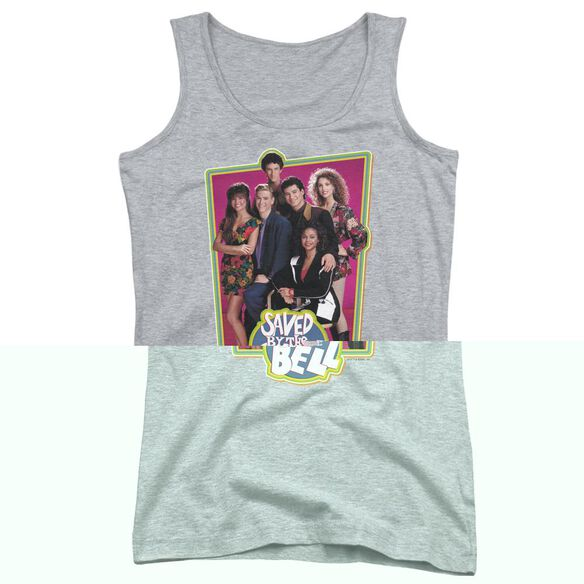 Saved By The Bell Saved Cast Juniors Tank Top Athletic