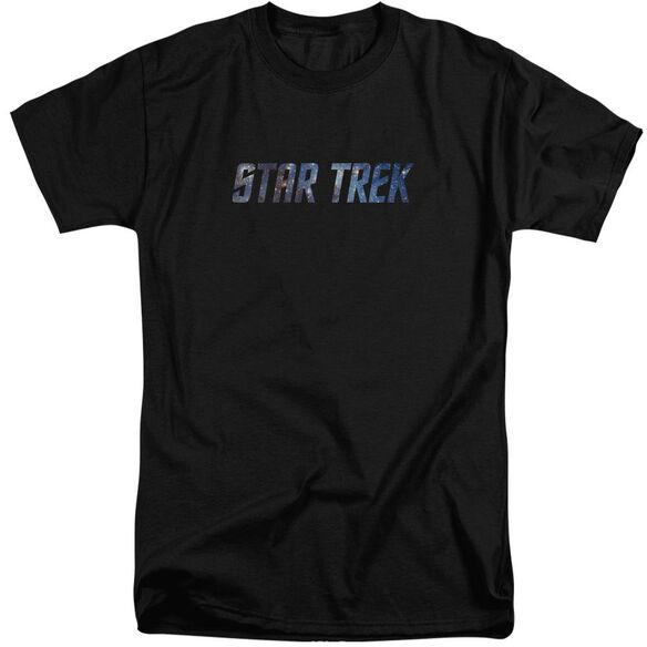 Star Trek Space Logo Short Sleeve Adult Tall T-Shirt