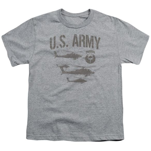 Army Airborne Short Sleeve Youth Athletic T-Shirt