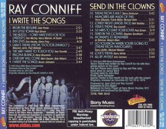 I Write The Songs: Send In The Clowns