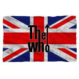 The Who Who Flag Fleece Blanket