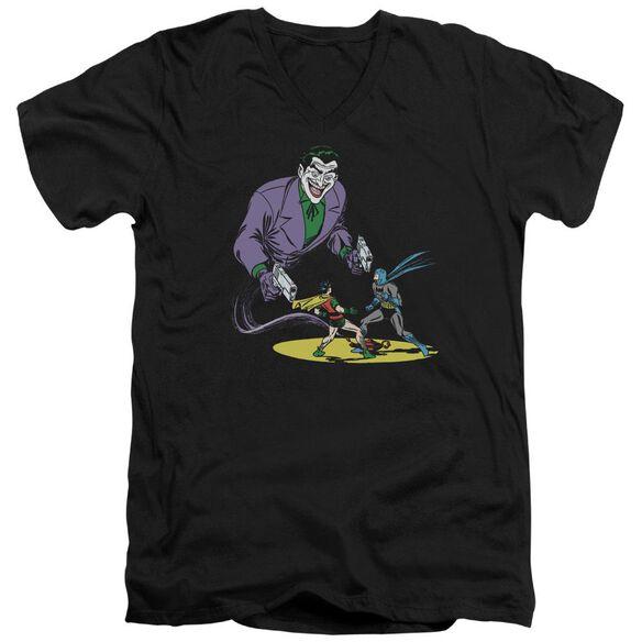 Batman Detective #69 Cover Short Sleeve Adult V Neck T-Shirt