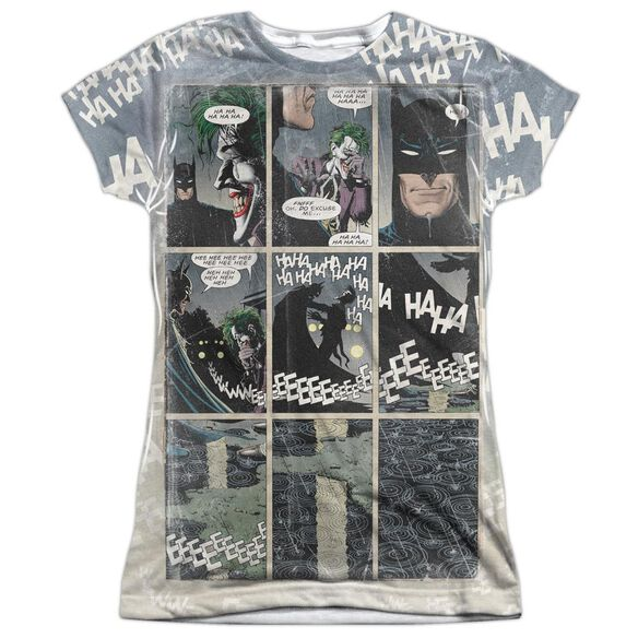 Batman Last Laugh Short Sleeve Junior Poly Crew T-Shirt