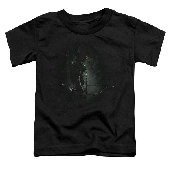 Arrow In The Shadows Short Sleeve Toddler Tee Black T-Shirt