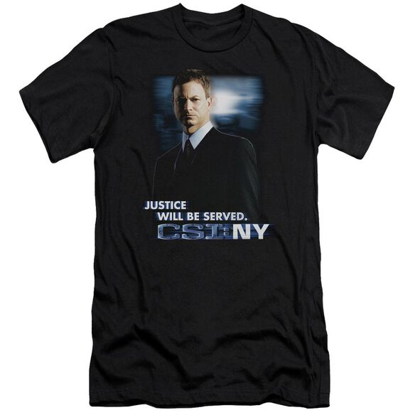 Csi:Ny Justice Served Short Sleeve Adult T-Shirt