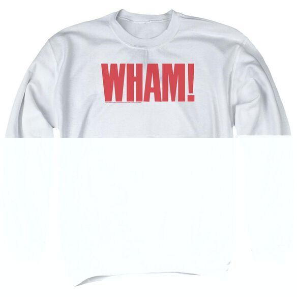 Wham Logo Adult Crewneck Sweatshirt