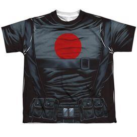 Bloodshot Shirt Short Sleeve Youth Poly Crew T-Shirt