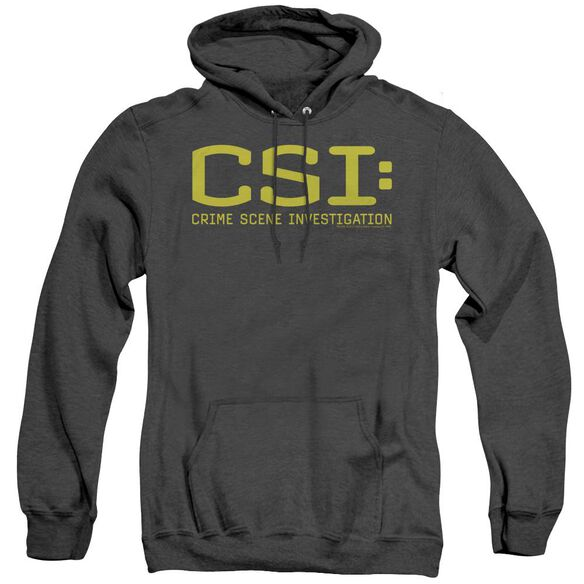 Csi Logo - Adult Heather Hoodie - Black