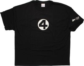 Fantastic Four Black T-Shirt