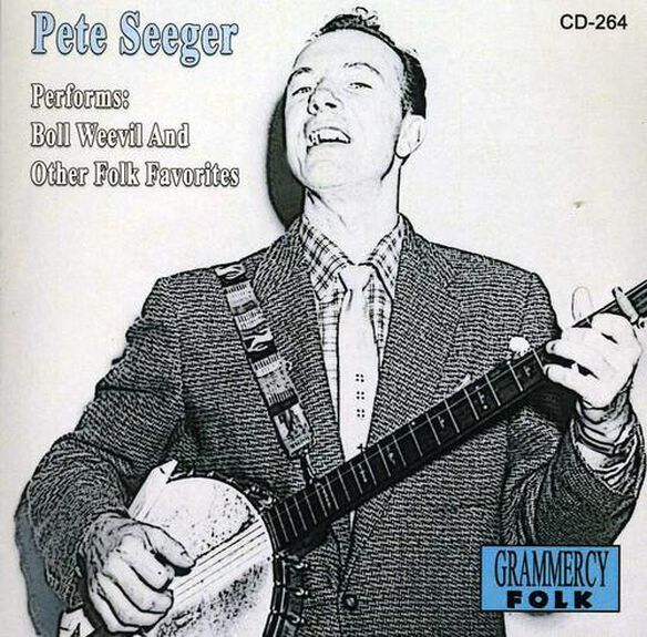 Pete Seeger Performs Boll Weevil & Other Folk Favo