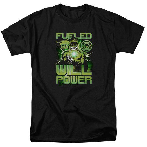 Green Lantern Fueled Short Sleeve Adult T-Shirt