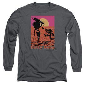 Betty Boop Summer Long Sleeve Adult T-Shirt