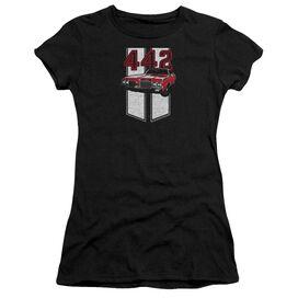 Oldsmobile 442 Short Sleeve Junior Sheer T-Shirt