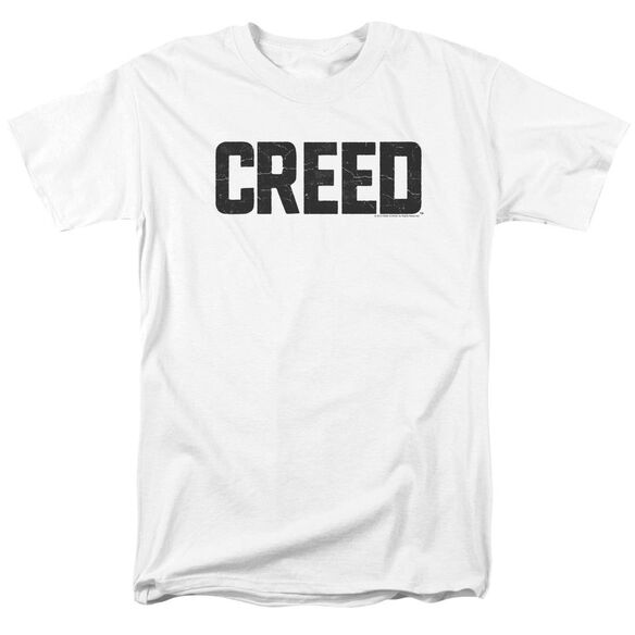 Creed Cracked Logo Short Sleeve Adult T-Shirt