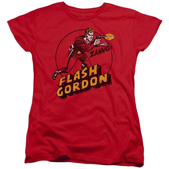 Flash Gordon Zang Short Sleeve Womens Tee T-Shirt