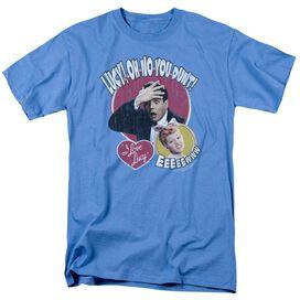 I Love Lucy Yelling In Spanish Short Sleeve Adult Carolina T-Shirt