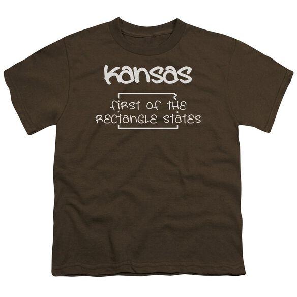 Kansas Short Sleeve Youth T-Shirt