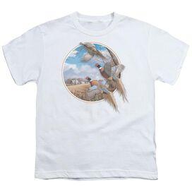 Wildlife October Memories Pheasants Short Sleeve Youth T-Shirt