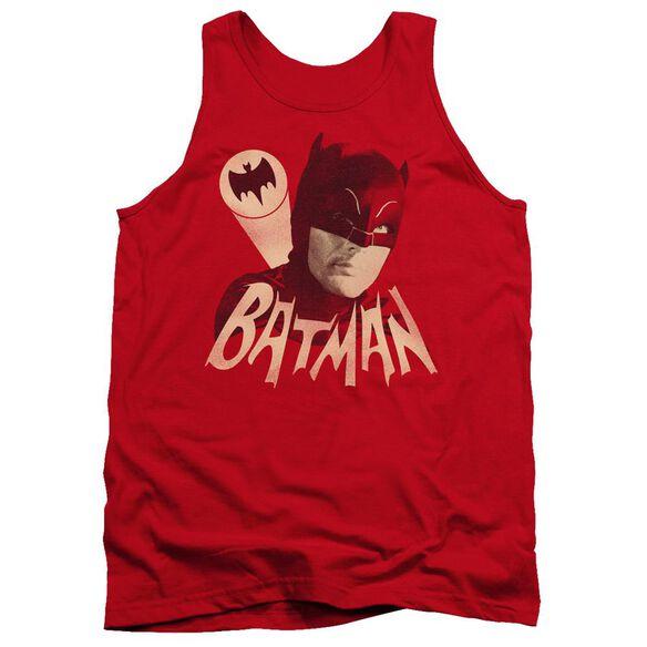 Batman Classic Tv Bat Signal Adult Tank