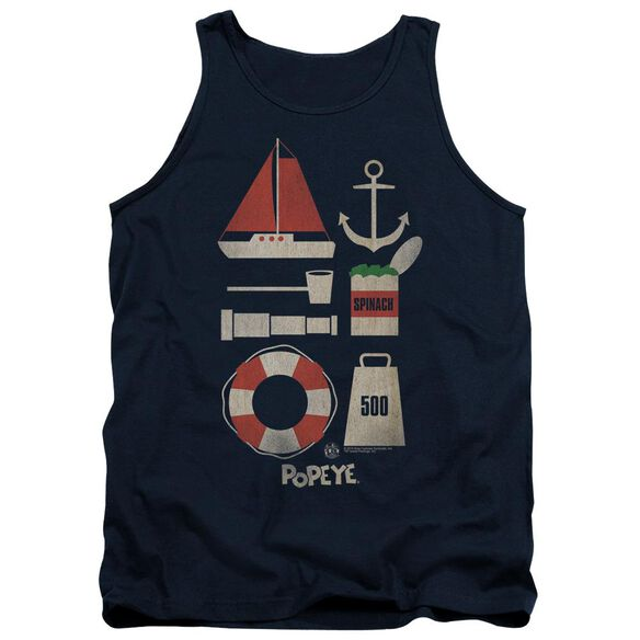 Popeye Items Adult Tank
