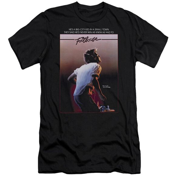 Footloose Poster Short Sleeve Adult T-Shirt