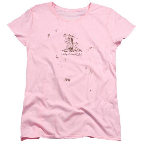 Garden I Dig Being Dirty Short Sleeve Womens Tee T-Shirt