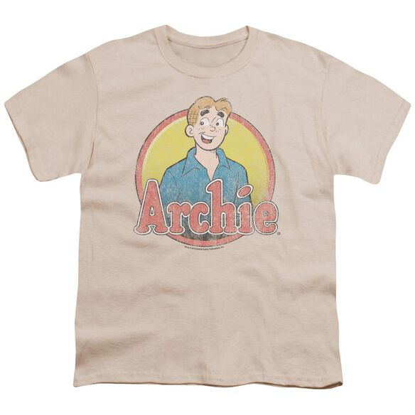 Archie Comics Achie Distressed Short Sleeve Youth T-Shirt