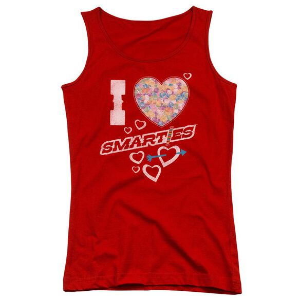 Smarties I Heart Smarties Juniors Tank Top