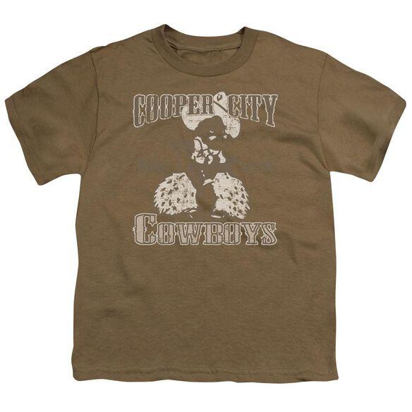Cooper City Cowboys Short Sleeve Youth Safari T-Shirt