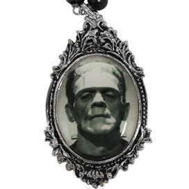 Frankenstein Monster Rosary Necklace