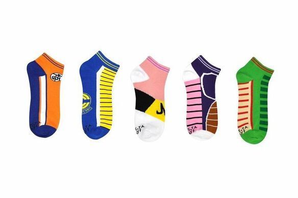 Dragon Ball Z Low-Cut Ankle Socks [5-pack]