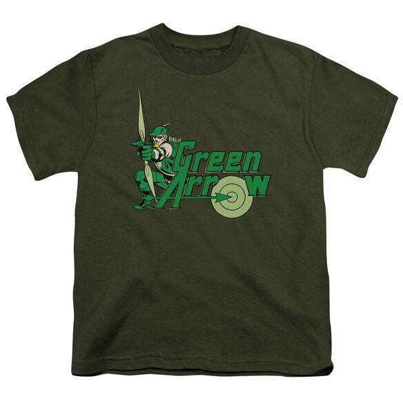 Dc Arrow Short Sleeve Youth Military T-Shirt