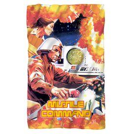 Atari Missile Command Fleece Blanket