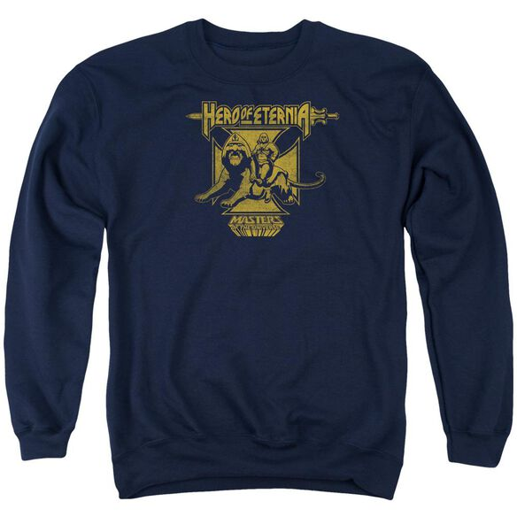 Masters Of The Universe Hero Of Eternia Adult Crewneck Sweatshirt