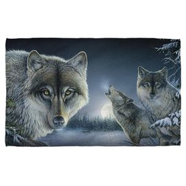 Wild Wings Midnight Wolves 2 Bath Towel