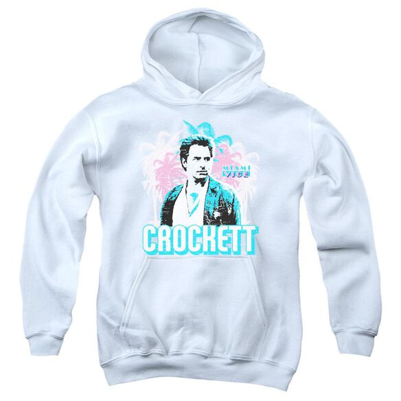 Miami Vice Crockett Youth Pull Over Hoodie