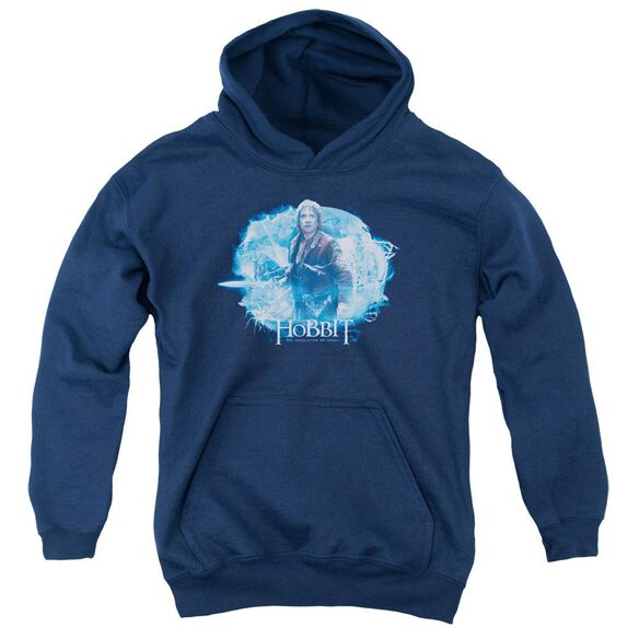 Hobbit Tangled Web Youth Pull Over Hoodie