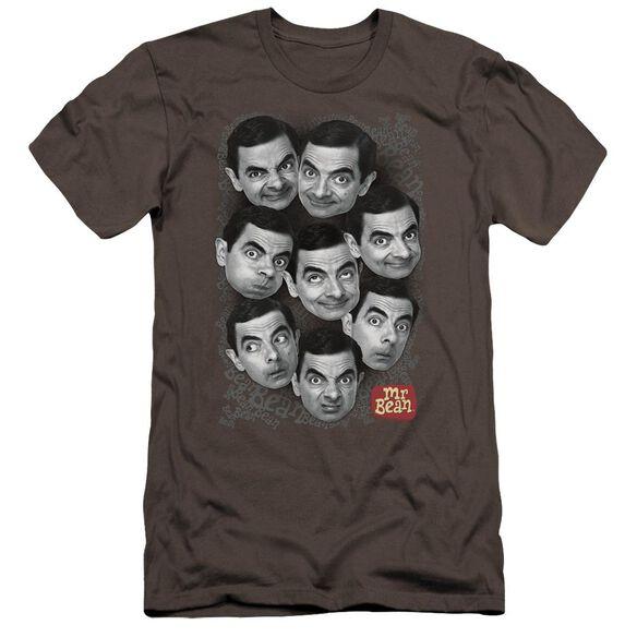 Mr Bean Heads Premuim Canvas Adult Slim Fit
