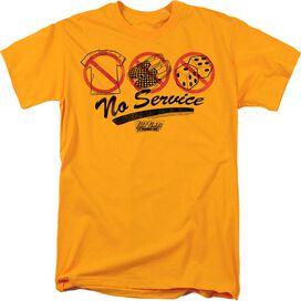 FAST TIMES RIDGEMONT HIGH NO SERVICE - S/S ADULT 18/1 - GOLD - 4X - GOLD T-Shirt