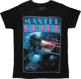 Halo Master Chief Shooting Scene T-Shirt