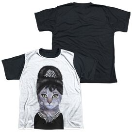 Pets Rock Breakfast Short Sleeve Youth Front Black Back T-Shirt