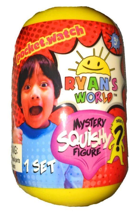 Ryan's World Mystery Squishy Figure [Series 1]