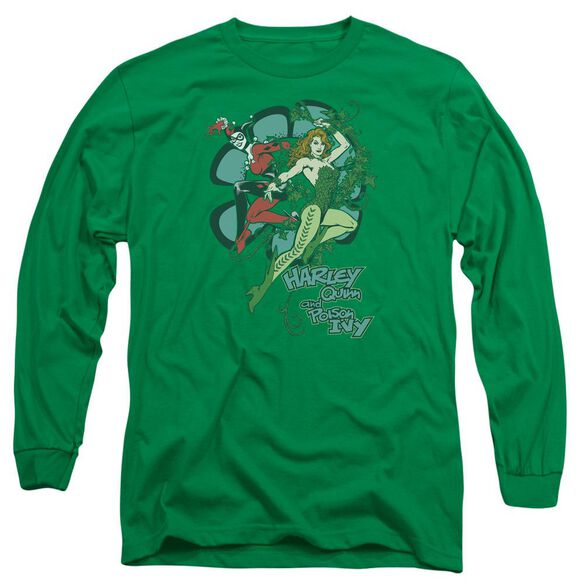 Dc Harley And Ivy Long Sleeve Adult Kelly T-Shirt