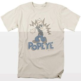 POPEYE SAILOR MAN - S/S ADULT 18/1 - SAND T-Shirt