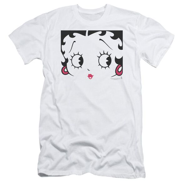 Betty Boop Close Up Short Sleeve Adult T-Shirt