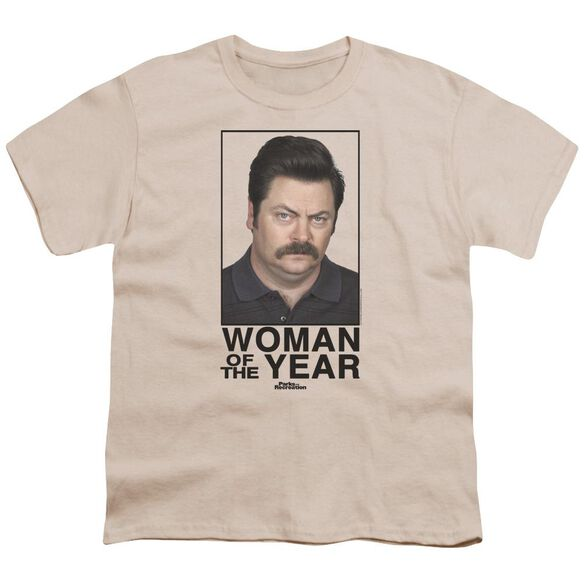 Parks And Rec Woman Of The Year Short Sleeve Youth T-Shirt