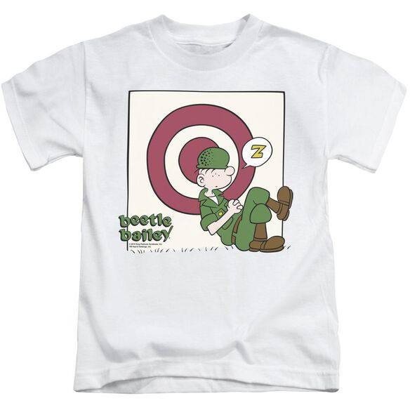 Beetle Bailey Target Nap Short Sleeve Juvenile T-Shirt