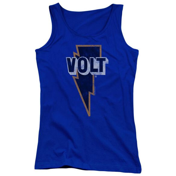 Volt Volt Logo Juniors Tank Top Royal